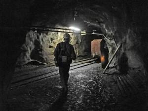 Uranový důl v Rožné na Žďársku. Zdroj: ČTK