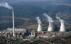 jaderná energie - Výroba elektřiny v pololetí vzrostla o více než tři procenta - V Česku (Prunerov) 1