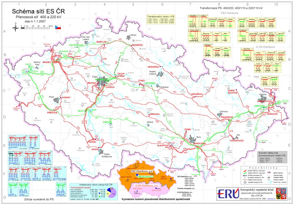 E15: ČEPS chce z Německa kompenzaci za náhlé přetoky elektřiny