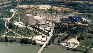 Jaderná elektrárna Santa María de Garoña. Zdroj: gabinete.org.ar