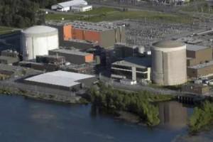 Jaderná elektrárna Gentilly-2. Zdroj: lapresse.ca