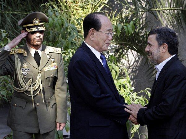 Írán a KLDR podepsaly dohodu o technologické spolupráci