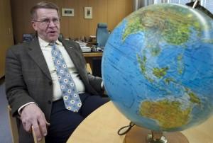 Jukka Laaksonen 15 let vedl finský úřad pro jadernou bezpečnost (STUK) a nyní je viceprezidentem Rusatom Overseas, dceřiné společnosti státního obra Rosatom, která je vlajkovou lodí jeho zahraniční expanze. Zdroj: kaleva.fi