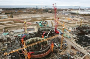 Leningradská jaderná elektrárna - ve výstavbě. Zdroj: Atominfo.ru