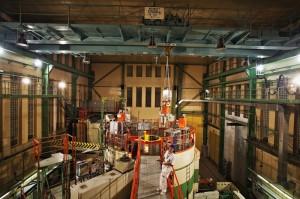 Výzkumný reaktor LVR-15, kdysi VVR-S. Zdroj: 2012.cvrez.cz