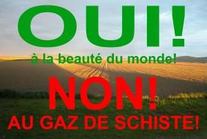 Ano - krásné krajině! Ne - břidlicovému plynu! Zdroj: universnature.wordpress.com