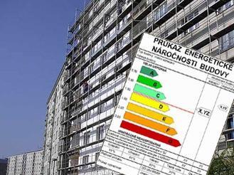 Majitelé nemovitostí musí domy označovat energetickými štítky