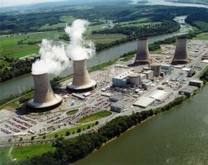 Jaderná elektrárna Three Miles Island. Zdroj: papundits.wordpress.com
