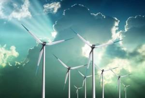 Instalovaný výkon větrných elektráren v EU dosáhl historických 100 megawattů (pro srovnání jaderná energie vyrábí okolo 130 gigawattů - údaj z roku 2007, teď po Fukušimě to bude ještě méně). Je ovšem třeba mít na paměti, že oba typy elektráren fungují v různých režimech, jinak zatěžují přenosové sítě a všechny ekologické souvislosti jsou u obou velmi komplikované. Zdroj: earthtimes.org