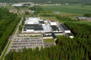Švédská továrna Westinghouse Sweden AB, kde probíhá výroba TBC-W - paliva, speciálně upraveného pro ruské reaktory VVER. Zdroj: atomic-energy.ru