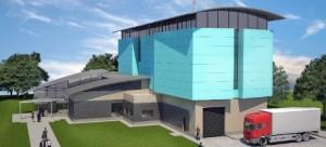 Nová továrna na papíře - model z díly projektantů Ansto. Zdroj: World Nuclear News