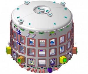 Obří lednice pro ITER z dílny indické firmy Larsen & Toubro. Doma bychom ji mít nejspíš nechtěli, ale má zajistit první předstupeň k neomezenému zdroji energie. Zdroj: iter.org