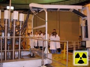 Polští středoškoláci unešeni z reaktoru Maria, který už pojede jen na nízko obohaceném palivu. Zdroj: rey.edu.pl