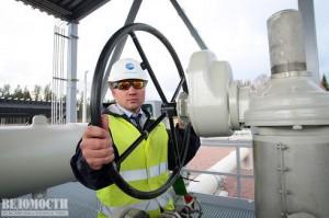 Kompresorová stanice Portovaja nedaleko u města Vyborg v Petrohradské oblasti, kde byla otevřena druhá větev plynovodu Nord Stream. Zdroj: Vedomosti.ru