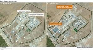 Výzkumný reaktor v Araku IR-40 o výkonu 40 megawattů. Zdroj: BBC