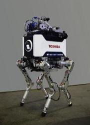 Tetrapod robot z dílny společnosti Toshiba. Zdroj: World Nuclear News