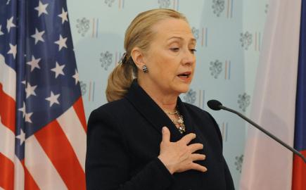 Hillary Clintonová v Praze podpořila americkou nabídku v temelínském tendru