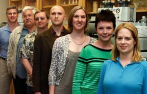 Skupina studující supertěžké prvky vlaboratoři LLNL vLivermore (zdroj LLNL).