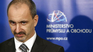 Ministr průmyslu a obchodu Martin Kuba. Zdroj: ihned.cz
