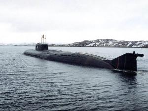 Ponorka typu Oskar 949A Antej, určená pro ničení amerických letadlových lodí. Nová ruská ponorka má ale být civilní. Zdroj: topwar.ru