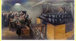 Umělecké ztvárnění pokusu, který otevřel jeden z dosud nejambicióznějších projektů lidstva - zkrocení atomového jádra. Zdroj: www-spof.gsfc.nasa.gov
