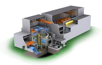 Reaktor ESBWR, který svým návrhem navazuje na  technologii ABWR, fungující na několika japonských JE. Zdroj: WNN