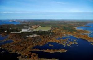 Vizualizace projektu finské elektrárny Simo, Areva ji zřejmě nepostaví.