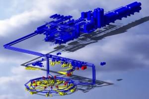 Gigantický kryosystém ITERu bude obsahovat 3 km chladicího potrubí
