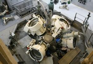 V Sarovu už existuje několik výzkumných středisek zaměřených na lasery, na obrázku je jedno z nich. Zdroj: topwar.ru