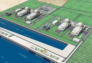 Budoucí jaderná elektrárna Barakah