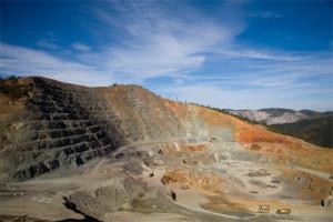 Budoucí důl Husab v poušti Namib. Infomine.com