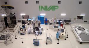 Argentinská společnost INVAP působí nejen v oblasti jaderných technologií, ale podílí se i na výrobě satelitů.