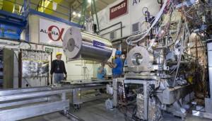 Instalace součástí experimentu ALPHA