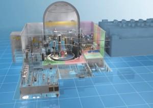 Reaktor Atmea1 je tlakovodní reaktor o výkonu 1100 MWe kombinující technologie od Arevy i MHI.  Podle vyjádření společností umožňuje tento design dlouhé provozní cykly a  krátké odstávky pro výměnu paliva a dokáže se přizpůsobit změnám v odběru energie ze sítě ovlivněním výroby elektřiny až o 5 % za minutu. Bezpečnostní prvky jsou jak pasivního tak aktivního charakteru, nechybí ani lapač aktivní zóny. Zdroj: WNN