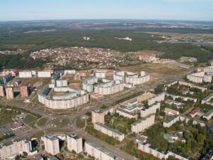 Obninsk z ptačího pohledu. Zdroj: r-40.ru