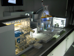 Model reaktoru VVER-TOI. Foto Atominfo.cz