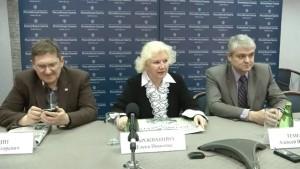 Jelena Dobrokvašina (uprostřed). Zdroj: gctc.ru