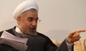 Nový íránský prezident Hassán Rouhání. Zdroj: guardian.co.uk