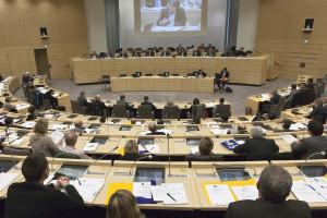 Pohled do sálu během diskuze o přeměně francouzské energetiky. (Zdroj: Nordpasdecalais.fr)