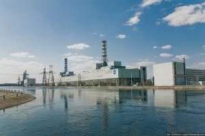 Smolenská jaderná elektrárna s reaktory RBMK-1000, sestra budoucí elektrárny. (Zdroj: Englishrussia.com)