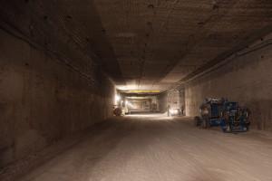 Dokončování sedmého úseku projektu WIPP. (Zdroj: Wipp.energy.gov)