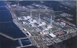Letecký pohled na jadernou elektrárnu Kašivazaki-Kariva, která se se svými sedmi varnými reaktory řadí k největším na světě. (Zdroj: Icjt.org)