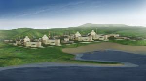 Představa budoucí elektrárny Akkuyu. (Zdroj: Aep.ru)