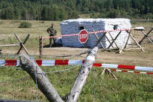 Vojáci a kontrolní stanoviště budou v rámci cvičení v příštích dnech v okolí Temelína běžnou záležitostí. (Zdroj: Acr.army.cz)
