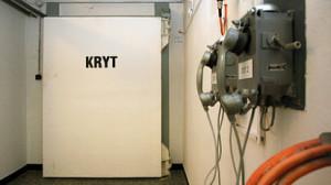V podobném krytu, jako je tento z JE Dukovany, strávilo 800 zaměstnanců Jaderné elektrárny Temelín během cvičení tři hodiny. (Zdroj: Ihned.cz)