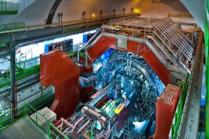 Experiment ALICE v CERN, na kterém se podílí i Ukrajina.