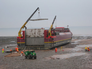 Příprava nákladního člunu Terra Marique.