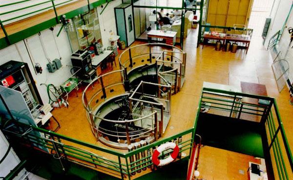 Jaderný reaktor uprostřed Prahy