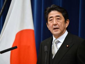 Japonský premiér, Šinzó Abe. (Zdroj: Bloomberg.com)