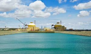 Pohled na jadernou elektrárnu Kudankulam, která se postupně připravuje na prlný výkon. (Zdroj: Cleanbiz.asia)